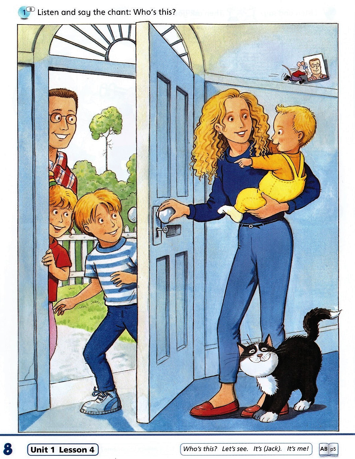 Изображение Happy House (New Edition) 1 Class Book страница 6